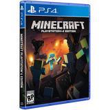 Minecraft Playstation 4 Edition Ps4 Físico Envío Grátis