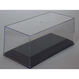 Tapa De Acrilico + Base Negra Plastica Apilables 1/43