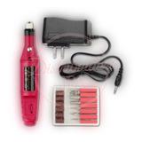 Torno Electrico Profesional Manicura Uñas + Kit De Fresas
