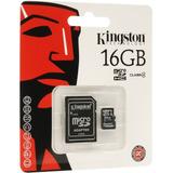 Memoria Microsd Sd 16gb Kingston Clase 4 Camara Celular Mexx