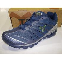 Zapatillas Running Tryon Flex Hombre Original De Fabrica