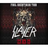 Entradas Slayer Platea Cabecera Luna Park (envio Sin Cargo)