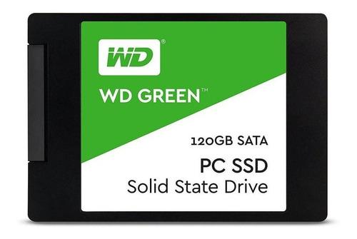 Disco Sólido Interno Western Digital Wd Green Wds120g1g0a 120gb Verde