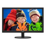 Monitor Philips 223v5lhsb2 Lcd 21.5  Negro 110v/220v (bivolt)