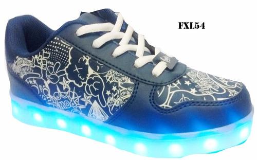 c8e7df716 Zapatillas Footy Brilla Oscuridad Led Mmk Fxl53 Fxl54 en venta en ...