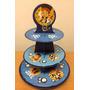 Torre Con 25 Pirotines Nº10 Para Cupcakes De Jake -mesadulce