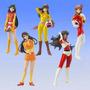 Hgif Gashapon Super Robot Heroines Set 3/5 Importado Japon