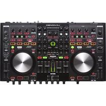 Controlador Denon Dn Mc 6000 Mk2 Usb Serato Mixer Dj