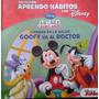 Libro Aprendendo Hábitos Con Disney - Cuidado Con La Salud