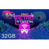 Consola Retro 32gb Arcade 1 Joystick Wireless +5000 Juegos