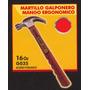 Martillo Galponero Mango Ergonomico Black Jack G035 #