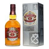 Chivas Regal 12 Años Whisky Escocés Botella 750 Ml + Estuche