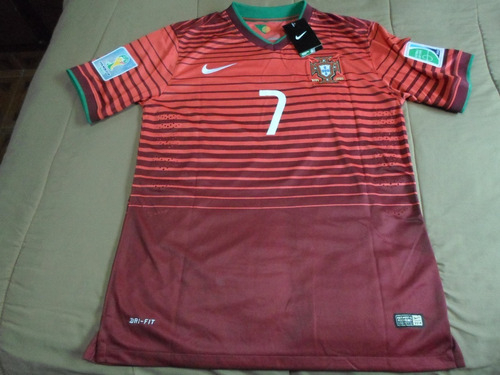 Camiseta Portugal 2014 Ronaldo cc5858e496ab4