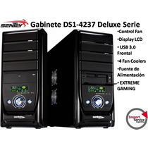 Gabinete Sentey Ds1-4237 Extreme Gaming Lcd Usb 3.0 + Fuente