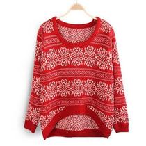 Sweater Irregular Con Guardas