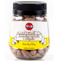 Amendoa Torrada e Salgada 150g - Flora
