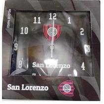 Reloj Pared Cuadro Futbol San Lorenzo