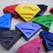 Crayones - Souvenirs - Superheroes - Superman - Pack X 48
