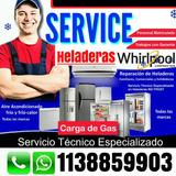 Service Heladeras Carga Gas Reparacion Aire Acondic Tecnico