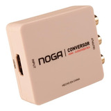 Conversor Noga - Hdmi - Audio / Video Rca - Burzaco