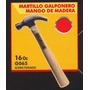 Martillo Galponero Mango De Madera Black Jack G065 #