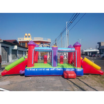 Castillo** , Doble Tobogan (opcional) +turbina