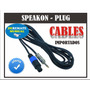 Cable Speakon Plug - 10mts - Ofertón!! Deremate