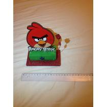 Adorno Para Torta Con Base De Telgopor De Angry Birds