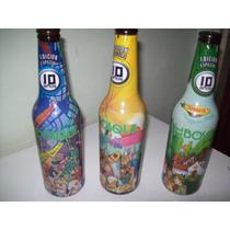 Antiguas Botellas Colección Cerveza El Bosque Permuto