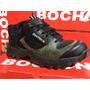 Zapatillas Borcego Trabajo Trekking Deporte Reforzado Bochin