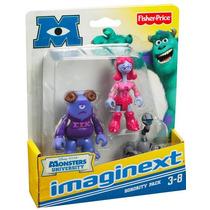 Set De 3 Figuras Monsters University Sorority Pack Disney