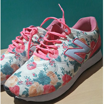Zapatillas New Balance Floreadas