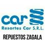 Espirales Renault 12 R12 /89 Delanteros