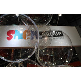 Globos Transparentes Burbuja Cristal 45 Cm Sin Tira Led
