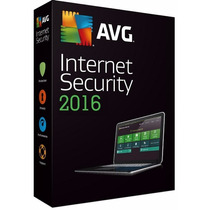 Antivirus Avg Internet Security 2016 Licencia Original 3años