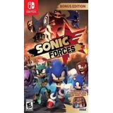Sonic Forces Nintendo Switch New Full Gamer
