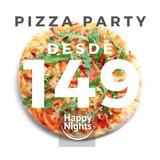 Pizza Party Catering Capital Z.norte Oeste Sur Economico