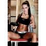 Foto 13x18 Mujer Gym Fitness Lenceria Casi Desnuda !