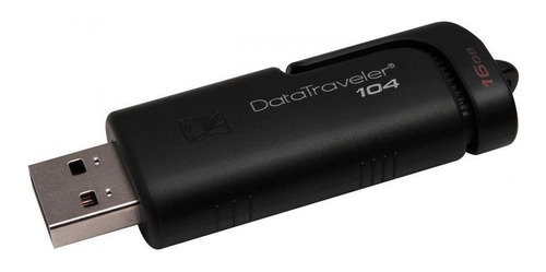 Pendrive Kingston Datatraveler 104 16gb Negro