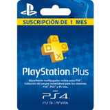 Psn Plus De 1 Mes Ps4 (100% Seguro)