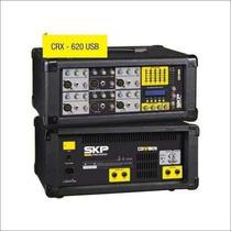 Skp Crx620 Usb Consola Mixer Potenciada 6 Canales Usb Efecto