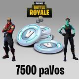 Fortnite 7500 Pavos V-bucks - Pc - Ps4