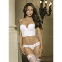 Conjunto Tz Soft Bustier Strapless Y Colaless Art1682 Sigry