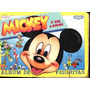 * Album Incompleto Mickey Y Sus Amigos Cromy Ver Descripcion