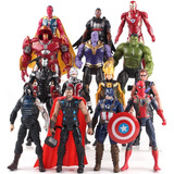 Muñecos Marvel Avengers Infinity War Thanos Ironman Thor
