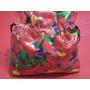 Porta Cosmeticos (bolsita) Tela De Plastico