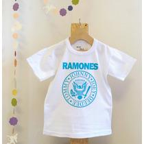 dc7e2f26f Remera Ramones Niños Rock Estampa Serigrafía en venta en Olivos ...