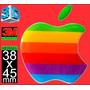 Calco Pegatina Logo Apple Encapsulada Domes 1 Calidad
