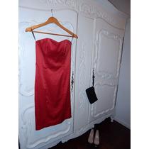 Vestido Rojo Las Oreiro Red Sale!!