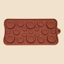 Molde De Silicona Chocolate Botones Bombones